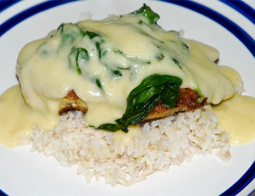 Chicken Florentine | The Cooking Geek